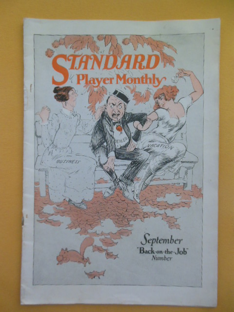 Image for Standard Player Monthly September, 1922 (Player Pianos)