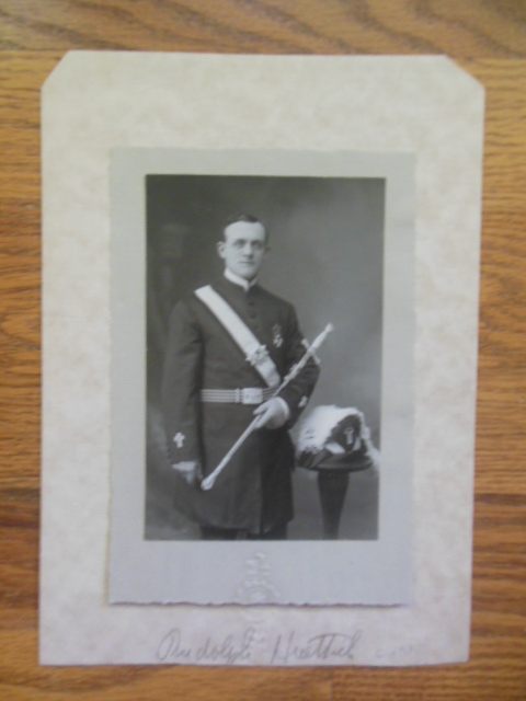 Image for Photograph Knights of Columbus circa 1917