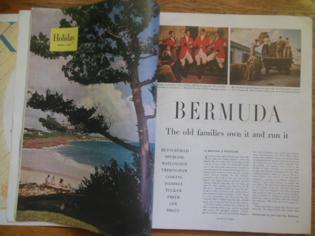 Image for Holiday Magazine April, 1947 (80 pages Bermuda)