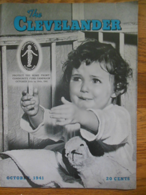 Image for The Clevelander Magazine October, 1941