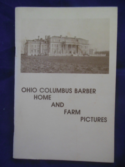 Image for Ohio Columbus Barber: Home and Farm Pictures