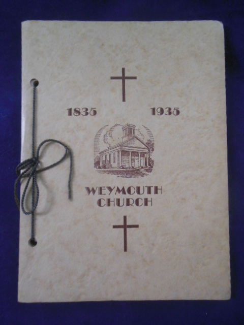 Image for One Hundred Years of the First Congregational Church of Weymouth, Ohio 1835-1935