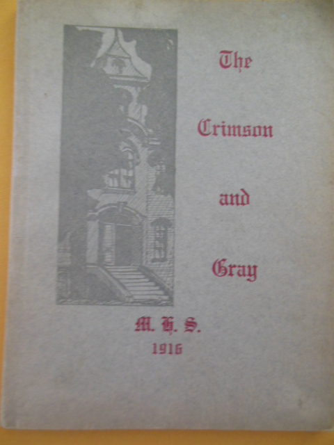 Image for The Crimson and Gray Medina High School 1916 (Ohio)