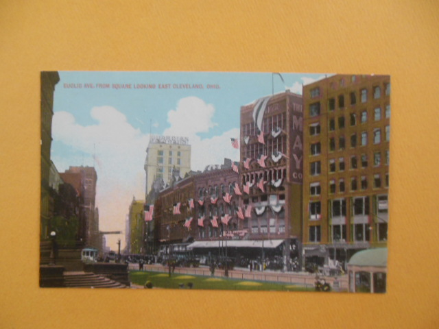 Image for Postcard Euclid Ave. From Square Looking East Cleveland, Ohio