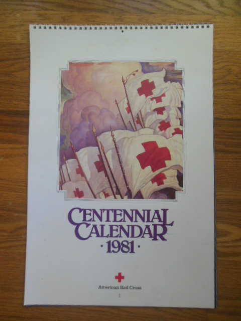 Image for American Red Cross Centennial Calendar 1981