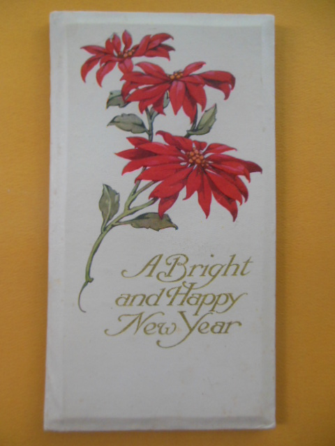 Image for A Bright and Happy New Year (Gift Book early 1900's)