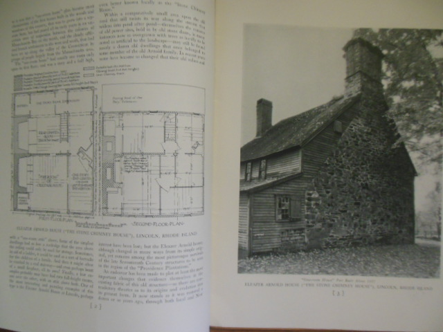 Image for The Monograph Series; Single  Room Houses of Lincoln, Rhode Island