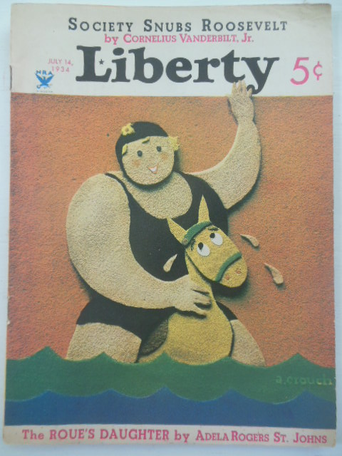Image for Liberty Magazine July 14, 1934 (Erle Stanley Gardner)