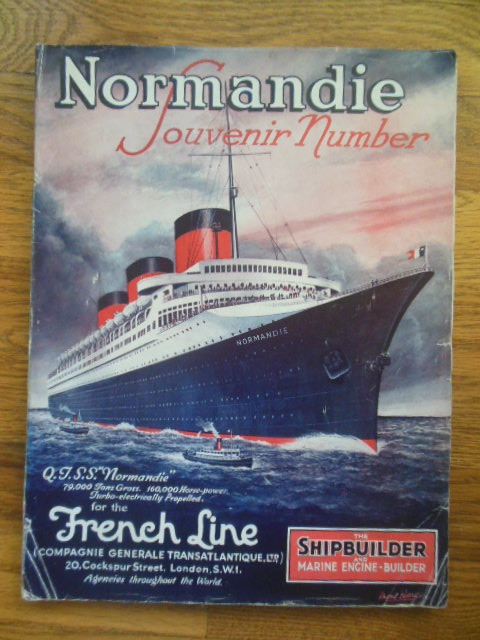 Image for Normandie Souvenir Number (The Shipbuilder Magazine  June, 1935)