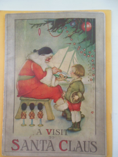 A Visit To Santa Claus (Art by Margaret Evans Price)
