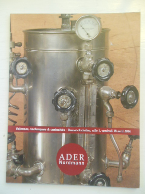 Image for Sciences Techniques & Curiosités (Auction Catalog Ader Nordmann 2014)