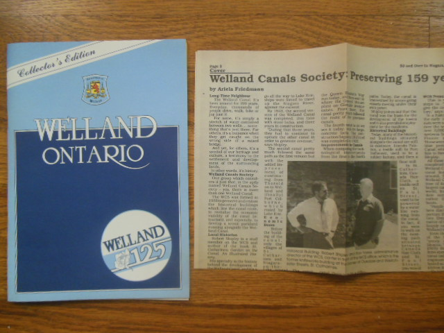 Image for Welland, Ontario 1858-1983 Celebrationg 125 Years of Canadian Heritage