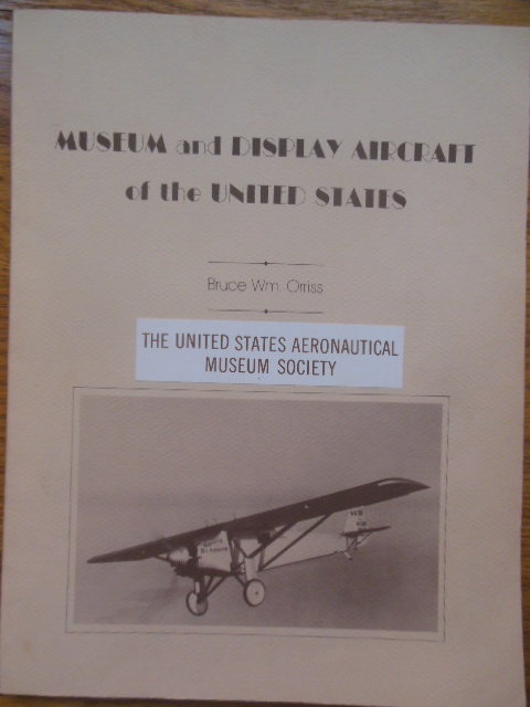 Image for Museum and Display Aircraft of the United States