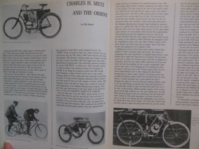 Image for The Antique Motorcycle Magazine (3 issues Summer, Fall, Winter 1987)