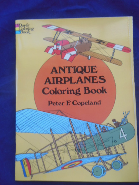 Image for Antique Airplanes Coloring Book (1975)
