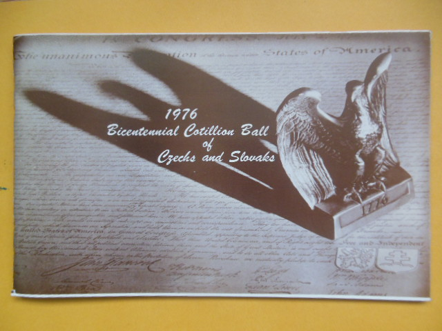 Image for 1976 Bicentennial Cotillion Ball of Czechs and Slovaks Program (Cleveland, Ohio)