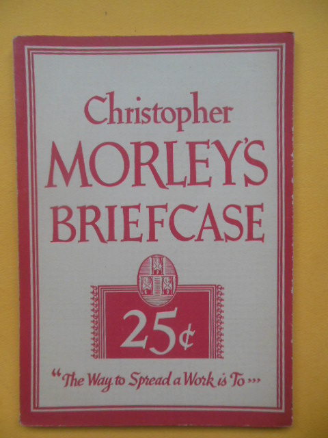 Image for Christopher Morley's Briefcase (1st Paper edition 1936)