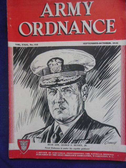 Image for Army Ordnance September-October, 1945
