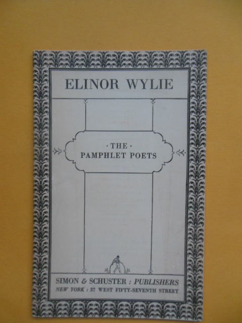 Image for Elinor Wylie (The Pamphlet Poets (1927)
