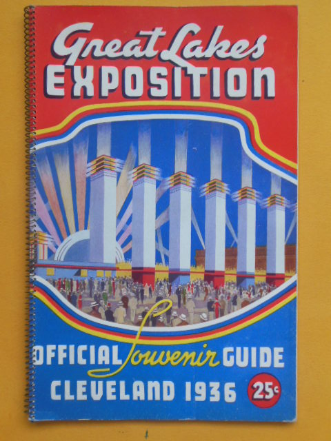Image for Great Lakes Exposition Official Souvenir Guide, Cleveland 1936