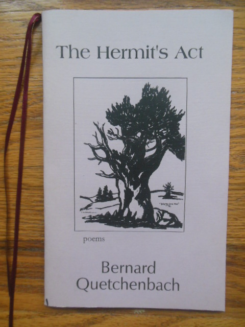 Image for The Hermit's Act (SIGNED Poetry 2004)
