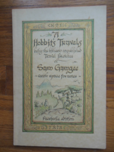 Image for A Hobbit's Travels Journal 1978