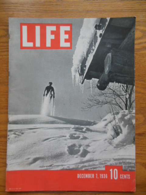 Image for Life Magazine December 7, 1936 (Third Issue)