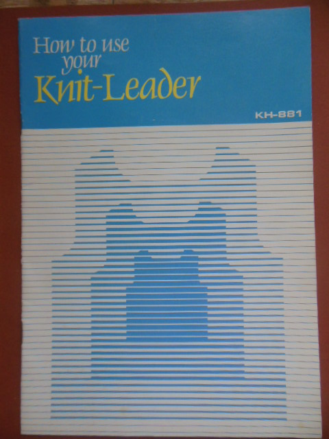 Image for How to Use Your Knit-Leader KH-881