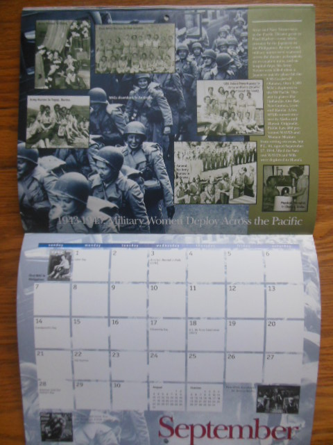 Image for The Women's Memorial 1997 Special Edition Calendar; Honoring American  Women in Uniform in World War II