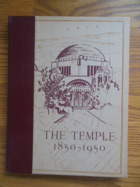 Image for The Temple 1850-1950; Congregation Tifereth Israel (Cleveland)