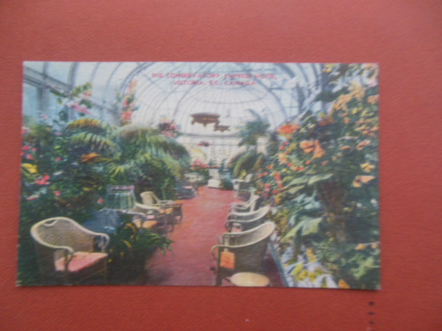 Image for Postcard: The Conservatory Empress Hotel Vancouver, B.C., Canada
