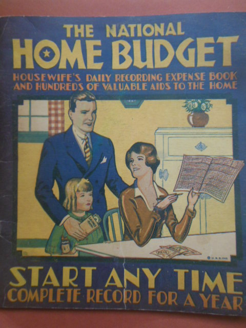 Image for The National Home Budget Housewife's Daily Recording Expense Book (1932)