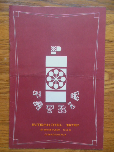 Image for Interhotel Tatry Strbske Pleso Czechoslovakia (Brochure)