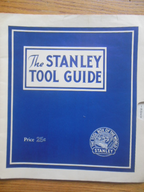 Image for The Stanley Tool Guide (1941)