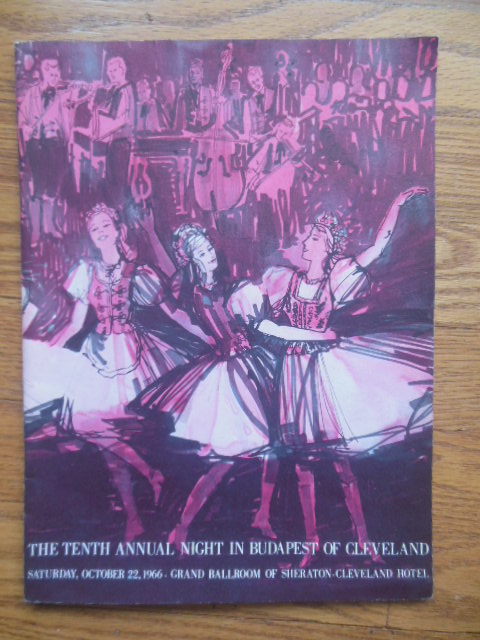 Image for Program: The Tenth Annual Night in Budapest of Cleveland October 22, 1966