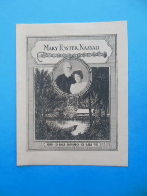 Image for Bookplate Mary Foster Nassau