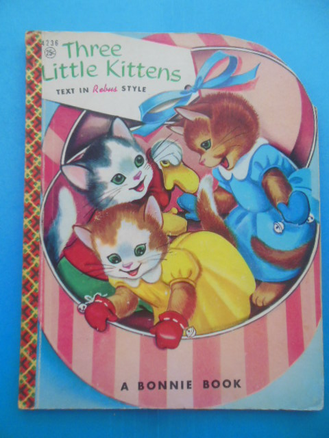 Image for Three Little Kittens (Rebus Format Bonnie Book 1955)