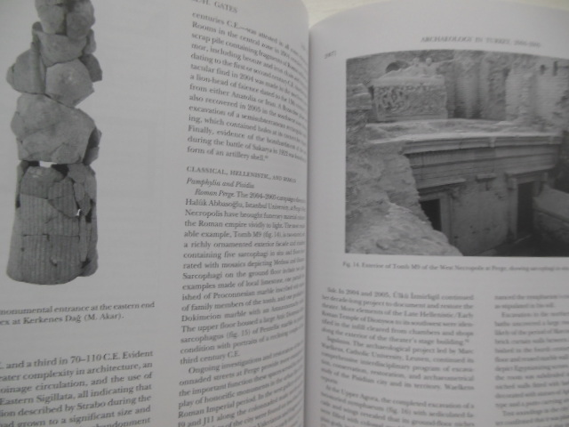 Image for American Journal of Archaeology April, 2007  (Archaeology in Turkey)