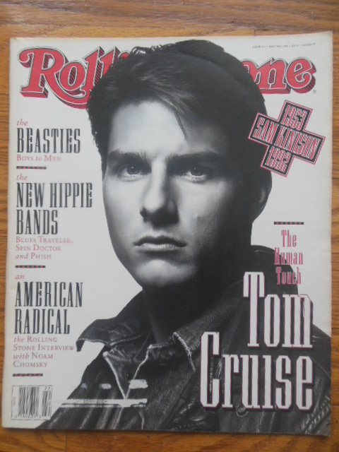 Image for Rolling Stone Magazine May, 1992 (Tom Cruise Cover)