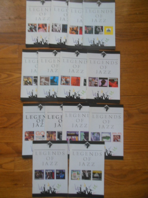 Image for Legends of Jazz, 1990 (14 booklets)