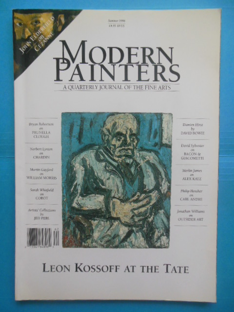 Image for Modern Painters A Quarterly Journal of the Fine Arts; Leon Kossoff at the Tate  (Summer, 1996)