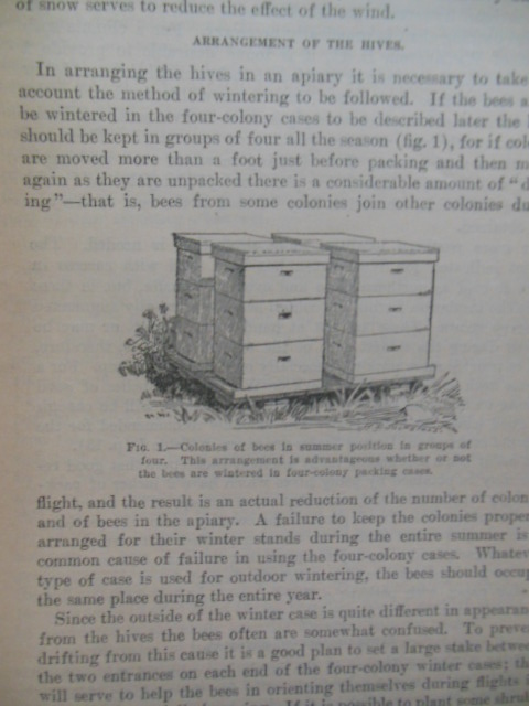 Image for The Preparation of Bees for Outdoor Wintering; Wintering Bees in Cellars (2 booklets, 1918)