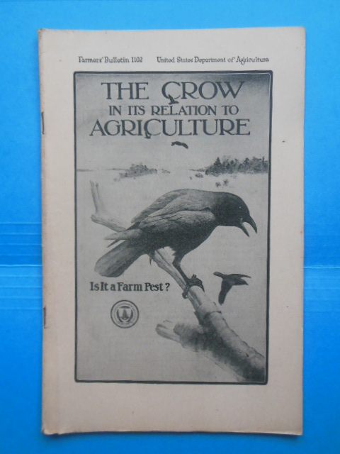 Image for The Crow In Its Relation to Agriculture: Is It A Farm Pest? (1920)