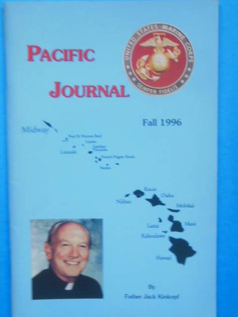 Image for Pacific Journal by Father Jack Kinkopf Fall,1996 (Midway, Molokai, U.S.S. Arizona)