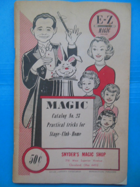 Image for Snyder's Magic Shop Cleveland, Ohio E-Z Magic Catalog No. 23