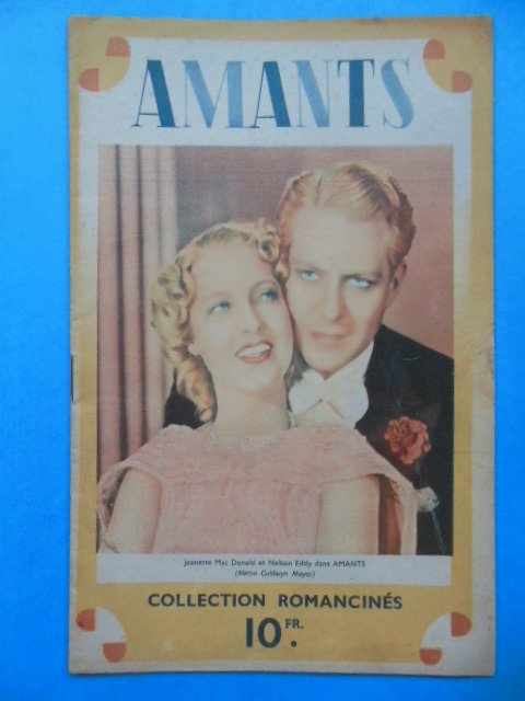 Image for Amants (Sweethearts) Jeanette MacDonald et Nelson Eddy Collection Romancines (Circa 1938)
