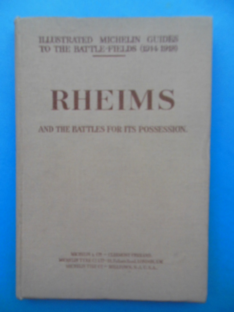 Image for Rheims And the Battles for Irs Possession (Michelin Guides to the Battlefields (1919)