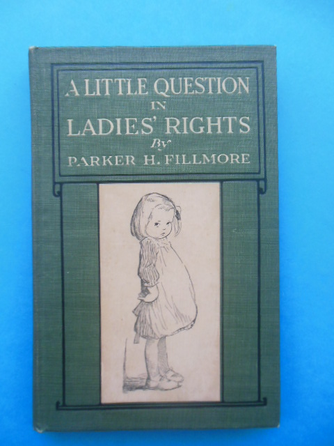 Image for A Little Question in Ladies Rights (Art by Rose Cecil O'Neill, 1916)