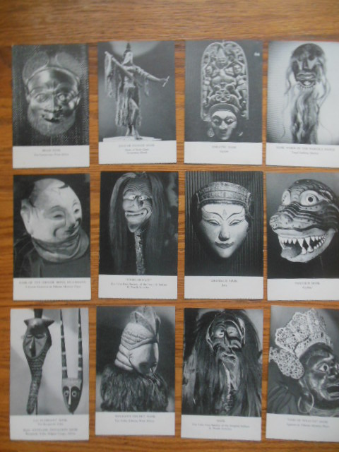 Image for Postcards American Museum of Natural History Series IX -- Masks