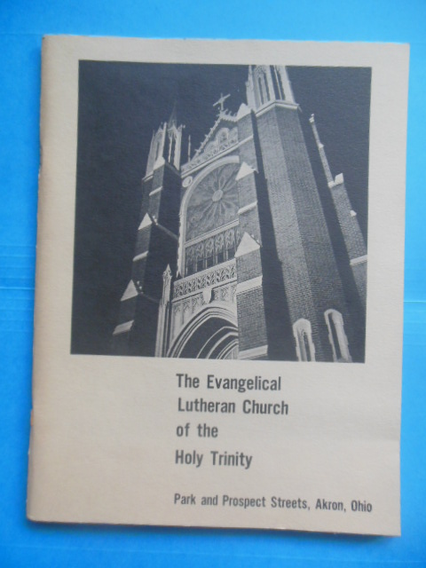Image for The Evangelical Lutheran Church of the Holy Trinity, Akron, Ohio (1960's)